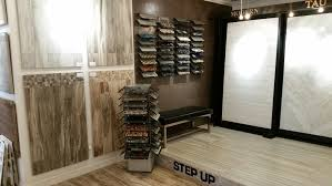 one area of the showroom