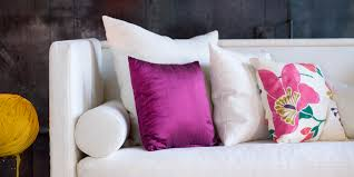 Designer Decorative Pillows For Couch Throw Pillows 100 Tips to Style Your Sofa HuffPost 52