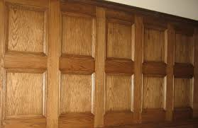 image of oak panelling for walls
