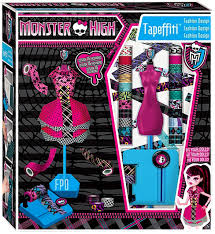 Fashion Design Toys Monster High Tapeffiti Fashion Design Exclusive 10 5 Inch Doll Playset