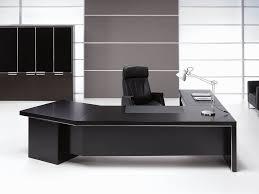 black office table. Stylish Office Table Desk Black D