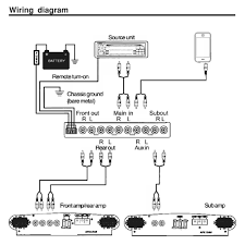 sub wiring diagrams car audio with source unit and chassis ground Sub 2 Ohms Wiring sub wiring diagrams car audio with source unit and chassis ground