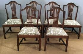 gany dining chair set of 6 antique gany dining chairs antique dining repurpose old dining room