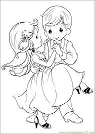 precious moments wedding coloring pages for kids print