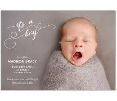 Baby Announcement Cards Buy Birth Announcement Cards Online