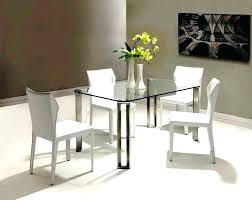 glass dining table set 4 chairs small round glass dining tables glass top dining table set 4 chairs image of small glass top dining table set 4 small square
