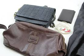 whispering smith jacket relic bag nautica wallet and black purse 4 pieces