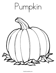 Small Picture Pumpkin Coloring Page Twisty Noodle