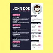 Colorful Resume Template Free Download Also Free Resume Designs To ...