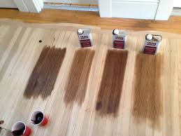 floor stain left to right all duraseal dark walnut special walnut antique brown provincial