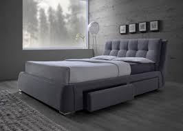 FENBROOK COLLECTION - Fenbrook Transitional Grey California King Bed ...