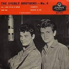 All i have to do is dream - claudette - bird dog - devoted to you by The  Everly Brothers, EP with disclo - Ref:114173727