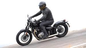 2017 triumph bonneville bobber first ride test 12 fast facts