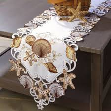 Seashell Design Seashell Design Table Runner Current Catalog