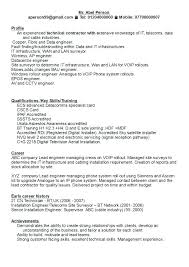 Sample Resume Format For Electrical Engineer Best Of Powerful Resume Samples Powerful Resume Samples Terrific