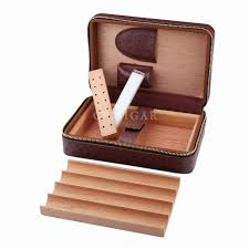 product description ostrich pattern cohiba leather cigar case cedar cigar travel