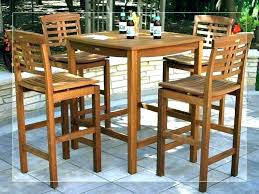 small round bistro table pub sets used large size of oval set chairs and small pub table round set