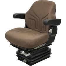 grammer brand john deere series mechanical reclining seat and mechanical suspension combo fits john deere