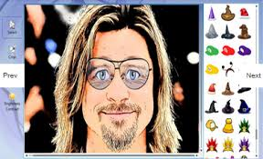 you can cartoonize your photo in one it is very easy and totally free you need simply to select your photo from