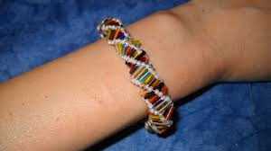 dna strand model diy how to make a dna bracelet with beads diy style tutorial