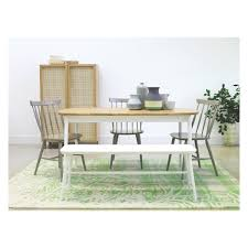 White Bench For Kitchen Table Talia White Bench Buy Now At Habitat Uk Christmas Dining