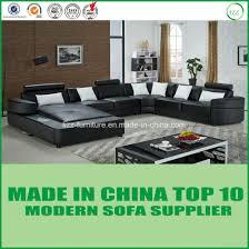 modern leather sofa bed. Modren Leather America Furniture Set Modern U Shape Leather Sofa Bed With