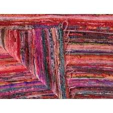 hand loomed oaks wool rug trade star exports size x cm rag pink color theme carpet hand loomed rag rugs