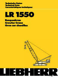 Crawler Cranes Lattice Boom Liebherr Specifications Cranemarket