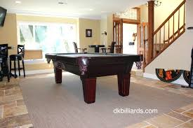 best pool table room ideas on man cave area rugs dark media with in remodel 16