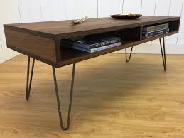 Black Walnut Coffee Table Walnut Coffee Table Etsy