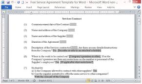 A supply agreement is a document between two parties, a supplier and a purchaser. Free Service Agreement Template For Word