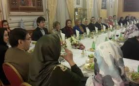 the group arrived in paris on wednesday to attend a seminar titled iranian women dynamic women and a round table talk in the french parliament