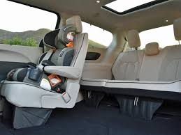 the pacifica s third row seat is quite comfortable providing excellent thigh support and decent room for legs and feet the second row stow n go seats are