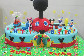 Minnie Mouse Party Supplies Mickey Ideas Baby 1st Birthday Cake