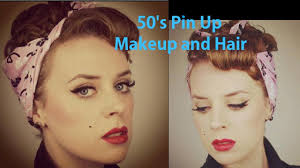 50 s pin up makeup and hair