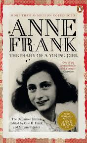 「1947 – The Diary of a Young Girl (better known as The Diary of Anne Frank) is published.」の画像検索結果