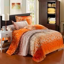 bedroom excellent orange bedding luxury satin sets home ideas plan daybed free standing patio umbrella grey