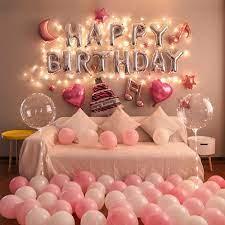 birthday basic home balloon decoration