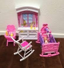 barbie size dollhouse furniture new baby room play set amazoncom barbie size dollhouse