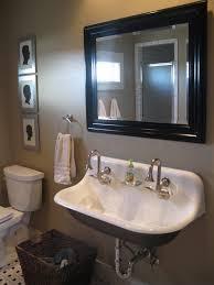 Brown Painted Bathrooms Bathroom Furniture Bathroom Interior White Acrylic Floating
