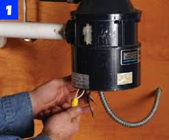 garbage disposal repair installation how to replace your step 1 turn off electricity