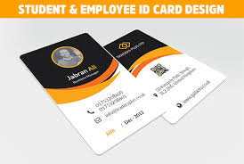 24 And Student Within Employee Hour mahmud Sultan Card Id Design By