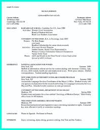Resume Examples For College 47 Images College Graduate