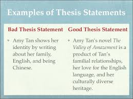 what is a thesis statement in an essay examples example of essays  what