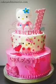 Hello Kitty Birthday Cake Cakes And Memories