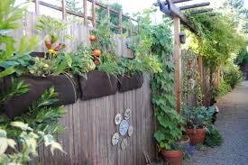fence garden ideas. creative vertical gardening ideas fence garden