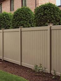 Vinyl fencing Beige 6 8 Norfolk Privacy Fence Panel Tan Tennessee Valley Fence Vinyl Pvc Fence Products Fencing Direct Fencing Products