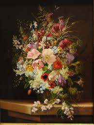 file still life of flowers by adelheid trich 1868 oil on wood