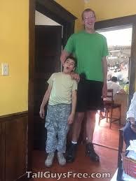 """7' 8"""" Bob Wegner   Wegner, Bob, Tall guys"""