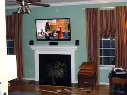 hide tv over fireplace how high to mount over fireplace inside finest how to hide wires